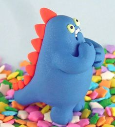 Monstruos de Plastilina   cute  plástico arte