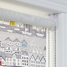 available to buy online today exclusively at dunelm our cordless roller blind will add a fun nautical style to your window ideal for the