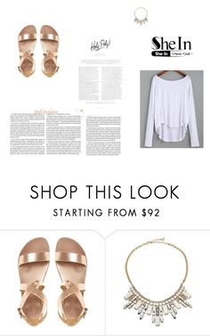 """shein contest"" by narcisa20 ❤ liked on Polyvore featuring ABS by Allen Schwartz"