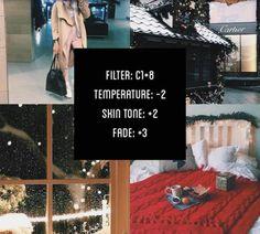 Christmas VSCO filter