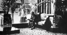 BIG BIBA OPENS, SEPTEMBER 10TH 1973. Window sofa