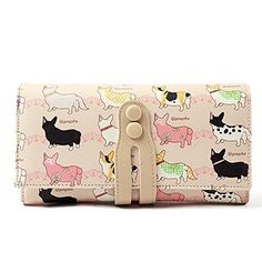 New Trending Clutch Bags: Nawoshow Women Cute Dog Wallet Cartoon Printing Wallet Coin Purse Clutch Bag. Nawoshow Women Cute Dog Wallet Cartoon Printing Wallet Coin Purse Clutch Bag  Special Offer: $21.88  199 Reviews Title:Women Cute Long Wallet Cartoon Printing Bifold Wallet Coin Purse Clutch Bag Card Case HolderMade of high quality printing Pu leather,.the design and coloring is...