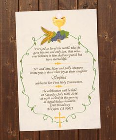 15 first holy communion ideas first