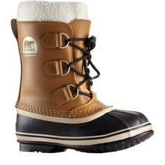 Sorel Kids' Yoot Pac TP Waterproof Winter Boots, Kids Unisex, Size: 5, Brown