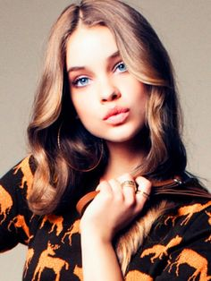 So this is Barbara Palvin... I thought I was pretty, and then I saw this..