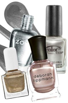 The top 10 nail trends for spring 2014: Molten Metallics