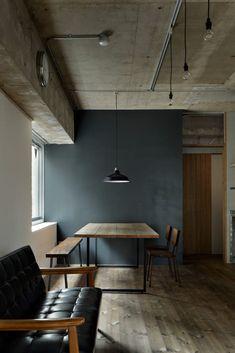ここではインテリアデザインの写真を見つけられます。インスピレーションを得てください! Interior And Exterior, Interior Design, Cafe Shop, Coworking Space, My Room, Dining Room, Table, House, Furniture