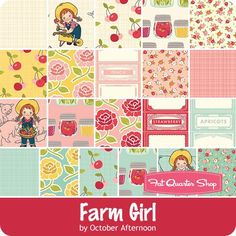Farm Girl by October Afternoon for Riley Blake Designs - January 2016