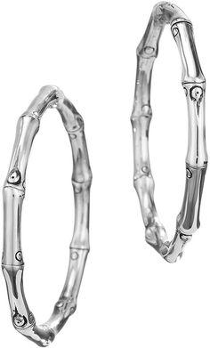 John Hardy Bamboo Hoop Earrings - $295.00