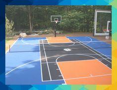 13 Multipurpose Sport Court Ideas Sport Court Outdoor Sports Court Outdoor Basketball Court