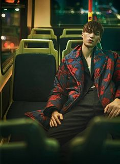 Night Bus - Kristoffer Hasslevall by Thomas Cooksey for GQ China