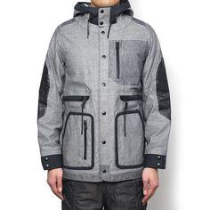 Pertex® Multiple Tissue Mix Hooded Jacket