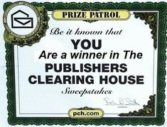 Enter to Win Publishers Clearing House Sweepstakes - Bing images Instant Win Sweepstakes, Online Sweepstakes, 10 Million Dollars, Win For Life, Winner Announcement, Win Online, Congratulations To You, Golden Ticket, Publisher Clearing House
