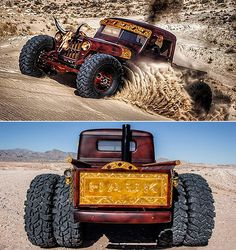 Hauk .45 Jeep – A Guns Of The Wild West Inspired 1948 Willys Pickup Dually | ThrottleXtreme.com