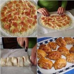 #Fooddd ✨Pizza✨ Lookin' like hot cinnamon rolls!
