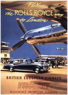 Airline Poster from the 1930's. #vintage #poster #airline