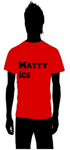 Matty Ice  Matt Ryan  The Atlanta Falcons    for information on how to order email thoseplayertees@gmail.com