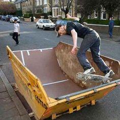 Recycle Your Dumpster: Urban Art via Adaptive Reuse