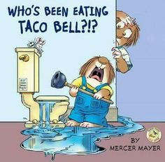 Who's been eating Taco Bell?