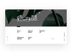 own portfolio by Sebastian Stapelfeldt #Design Popular #Dribbble #shots