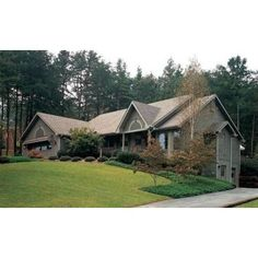 Ranch style houses are traditionally one story with a low for Monster house plans ranch