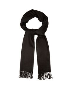 Embroidered wool scarf Alexander McQueen ztZaGvx4th