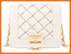 Betsey Johnson Women's Cotton Candy Crossbody Cream Cross Body - Crossbody bags (*Amazon Partner-Link)