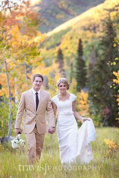 Lace modest wedding dress Image by Travis J