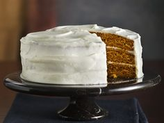 Incredibly Moist Pumpkin-Spice Cake with Cream Cheese Frosting Celebrate the Season - Fall Baking Recipe Magazine Contest 2010 shared by Kathy Chapin from Cullman, AL Spice Cake Mix, Pumpkin Spice Cake, Pumpkin Dessert, Pumpkin Cakes, Pumpkin Butter, Pumpkin Pumpkin, Spice Cupcakes, Spice Cake Recipes, Pumpkin Recipes