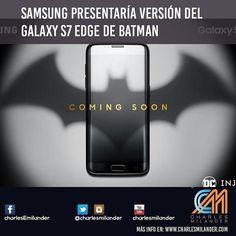 Samsung S7 Batman Version. #charlesmilander #tecnologia #apps #pc #mac #windows #iOS #iphone #ipad #Android #google #samsung #whatsapp #facebook #twitter #youtube #technology #batman #smartphones