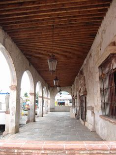 spanish colonial architecture. My aunt in Honduras has a house like this. It's beautiful.
