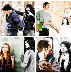 Teen Wolf: Scott McCall, Isaac Lahey, Lydia Martin, and Stiles Stilinski with Allison Argent. ( Goodbye, Ally )