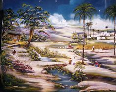 Christmas Stage Design, Christmas Pictures, Nativity, Aquarium, Reyes, Painting, Blog, Christmas Scenery, Christmas Crafts