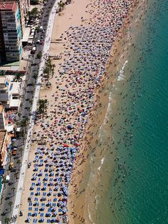 Fun in the sun in Alicante, Spain. Fly from Liverpool John Airport on easyJet or Ryanair. Places To Travel, Places To See, Spain And Portugal, Cities, Top Of The World, Future Travel, Spain Travel, Beach Fun, Beach Photos