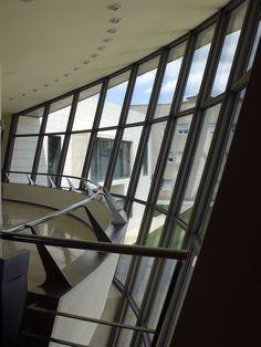Campus de Teruel. Universidad de Zaragoza. unizar Stairs, Windows, Home Decor, Zaragoza, University, Universe, Stairways, Homemade Home Decor, Ladder