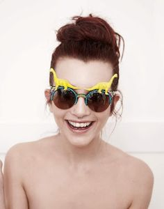 6582680c84d Spangled SS13 sunglasses....however silly they are me and Hailey may just