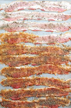 How to make Candied Bacon - grill it or bake it with this #recipe