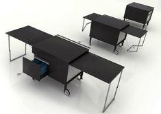 kanapetko-schreibtisch-moderne-Büromöbel. Smart! Andere Home Office Ideen gibt es auf www.casetur.com - find other home office solutions at www.casetur.com