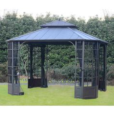 Bay Window Hard Top Gazebo