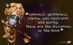 Words of wisdom by lord krishna that appeal to humankind even today. Shree Krishna the supreme power of all represents love, wisdom, & intellect. Radha Krishna Love Quotes, Krishna Radha, Krishna Images, Lord Krishna, Lord Shiva, Krishna Leela, Mahabharata Quotes, Hindu Quotes, Spiritual Quotes