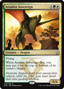 R Dragones de Tarkir-Sunscorch Regent-SP MTG Magic