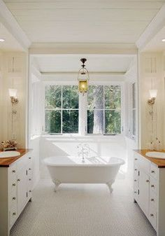 window tub bumpout | to bump out the bathroom wall with windows to hold a claw foot tub ...