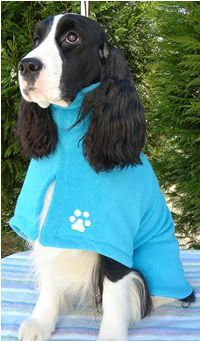 The best dog robes out there...
