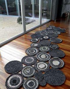 Aprenda a fazer tapetes em crochê em um Passo a Passo Fácil!