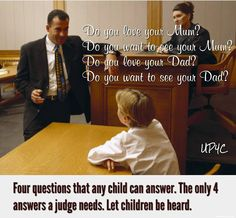 American Fathers Liberation: Alienation occurs when one parent gives the child permission to break the other parent's heart.