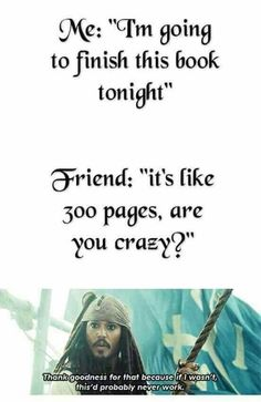 I actually would finish the whole book that night. lol