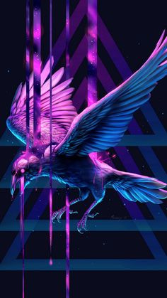 ArtStation - Beauty of pain III, Minea Juntura Birds Wallpaper Hd, Handy Wallpaper, Animal Wallpaper, Aesthetic Iphone Wallpaper, Wallpaper Backgrounds, Cellphone Wallpaper, Wallpapers, Crow Art, Bird Art