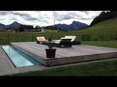 Spießberger-bau GmbH - Vollautomatische Poolabdeckung - YouTube