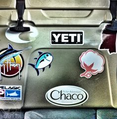 yeti coolers logo google search fishing brands With best brand of paint for kitchen cabinets with southern tide stickers