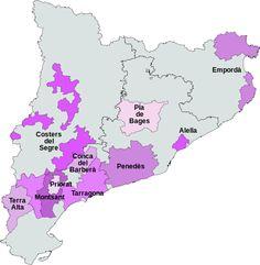Vinos con DO de Cataluña